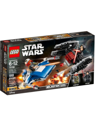Star Wars 75196 A-wing™ mod TIE Silencer™ Microfighters - Proshop