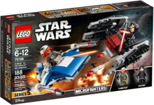 Star Wars 75196 A-Wing™ vs. TIE Silencer™ Microfighters