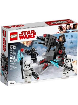 Star Wars 75197 Den Første Ordens specialister Battle Pack - Proshop