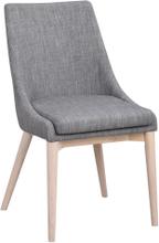 Bea stol Mörkgrå/vitpigmenterad
