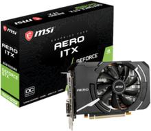 GeForce GTX 1660 SUPER AERO ITX OC - 6GB GDDR6 SDRAM - Grafikkort