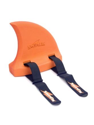 Orange shark fin
