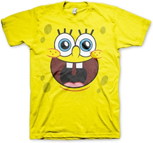Sponge Happy Face T-Shirt, Basic Tee