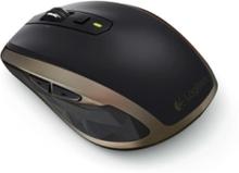 MX Anywhere 2 for Business - Mouse - Laser - 7 knappar - Svart