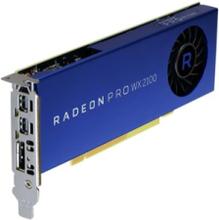 Radeon Pro WX 2100 - 2GB GDDR5 RAM - Grafikkort