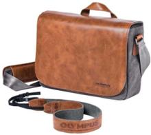 OM-D Messenger Bag - skuldertaske til kamera med zoomobjektiv