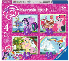 My Little Pony Puzzle 4in1