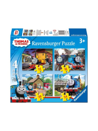 Thomas & Friends puzzle 4 in 1