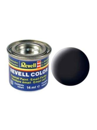 enamel paint # 08-black Mat