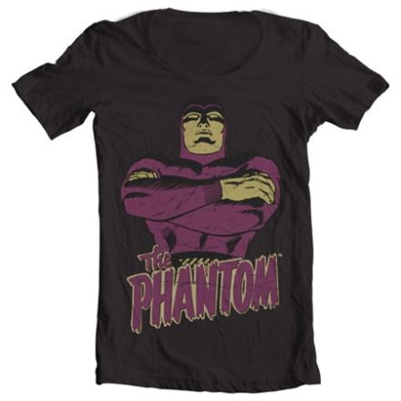 The Phantom Wide Neck Tee, Wide Neck T-Shirt