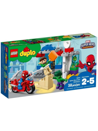 DUPLO 10876 Spider-Man og Hulks eventyr - Proshop