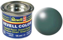 enamel paint # 364-Foliage Green silk Matt