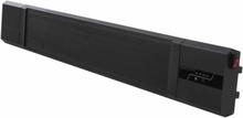 Sunred vægophængt varmeapparat Nero 2400 W sort varme sort