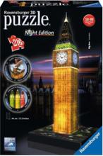 Big Ben 3D Puzzle- Night Edition 3D pusselspel