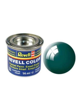 enamel paint # 62-moss green shiny