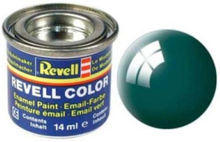 enamel paint # 62-moss green shiny