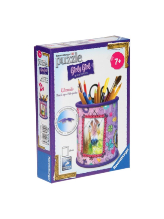 Girly Girl 3D puzzle horses-pencil holder 3D Palapeli