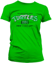 Turtles NY 1984 Girly T-Shirt, Girly T-Shirt
