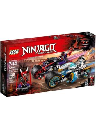 Ninjago 70639 Slangejaguars gadeløb - Proshop