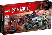 Ninjago 70639 Gaturace med motorcyklar