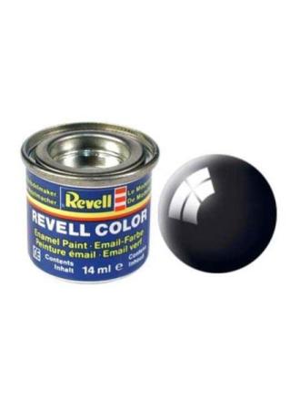 enamel paint # 07-black Shiny
