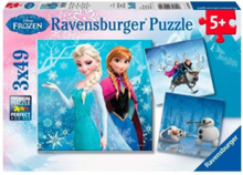 Disney Frozen Puzzle: adventure in Winterland 3x4