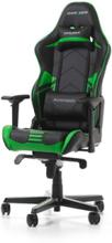 RACING PRO R131-NE Krzes?o gamingowe - Czarno-zielony - Skóra PU - Do 115 kg