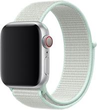 Apple Watch Series 4 44mm Nylon Klokkereim - Hvit