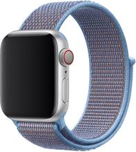 Apple Watch Series 4 44mm Nylon Klokke Bandet - Baby Blå
