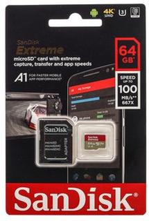 Sandisk MicroSDXC Extreme 64GB+Adap