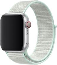 Apple Watch Series 4 40mm Nylon Klokkereim - Hvit