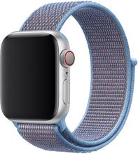 Apple Watch Series 4 40mm Nylon Klokke Bandet - Baby Blå