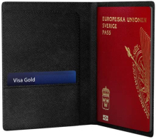 iDeal of Sweden iDeal Passport Cover - Svart