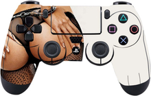 Sony PlayStation 4 - PS4 controller durable adhesive sticker - Sexy View