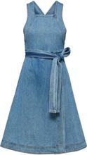 SELECTED Denim - Midi Dress Women Blue