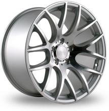 3SDM 001 Silver alufälg