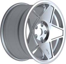3SDM 005 Silver alufälg