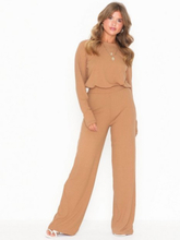NLY Trend Ribbed LS Set