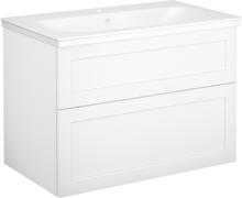 Tvättställsskåp vit ram Gustavsberg Artic 800 mm