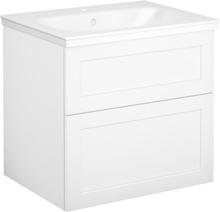 Tvättställsskåp vit ram Gustavsberg Artic 600 mm