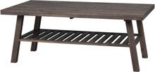 Brooklyn soffbord Mörkbrun 130 x 75 cm