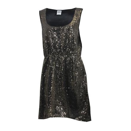 Damer Vero Moda Lulina paljett klänning i guld