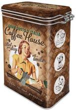 Plåtburk Kaffeburk 'Coffee House'