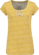 Urban Surface - Flowers -T-skjorte - gul