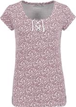 Urban Surface - Flowers -T-skjorte - lyserosa