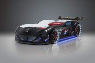 Bilseng Speedy Boy 7000 Black- med LYD og LED LYS