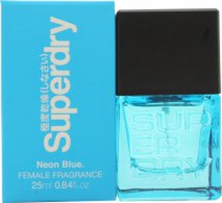 Superdry Neon Blue Eau de Cologne 25ml Sprej