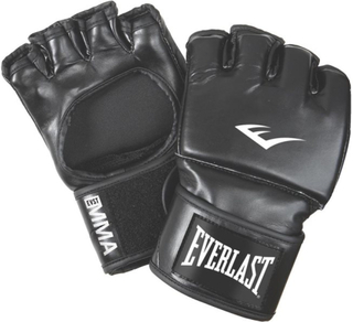 Everlast Open Thumb Grappling Gloves PU