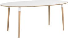 Fusion matbord Vit/ek 190 x 100 cm