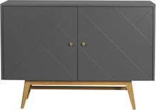 Rosswood sideboard Grå/ek 124 x 42 cm